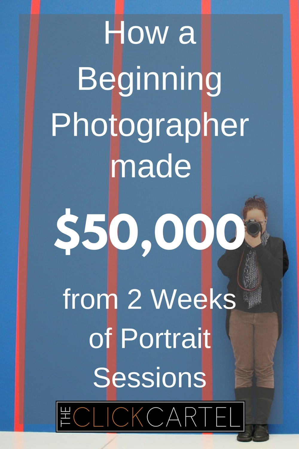 How a beginning photograper made $50K from two weeks of family portrait sessions.