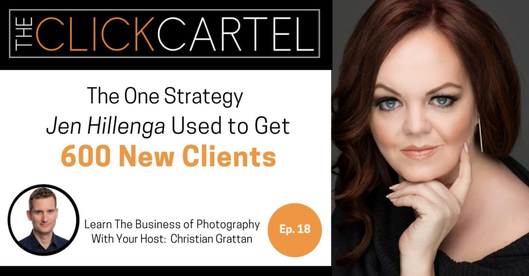 Episode 18: Jen Hillenga Explains How She Got 600 New Clients with this Strategy: Spiral Marketing
